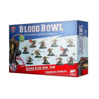 Blood Bowl - Skaven - The Skavenblight Scramblers