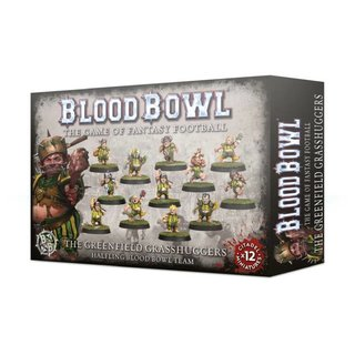Blood Bowl - Halfling - The Greenfield Grasshuggers