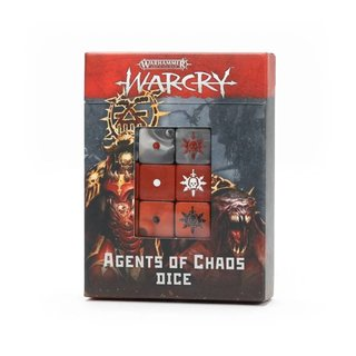 Warcry - Agents of Chaos Würfelset (Dice Pack)