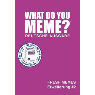 What do you Meme? - Fresh Memes (Erweiterung #2)