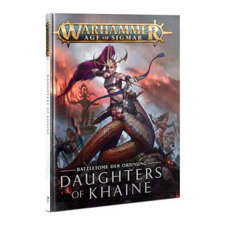 Age of Sigmar - Battletome - Daughters of Khaine 2021 (SC)