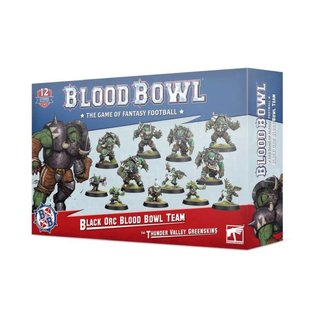 Blood Bowl - Black Orc - The Thunder Valley Greenskins