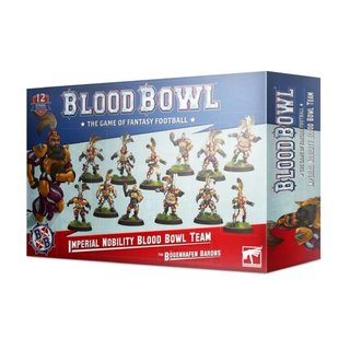 Blood Bowl - Imperial Nobility - The Bögenhafen Barons