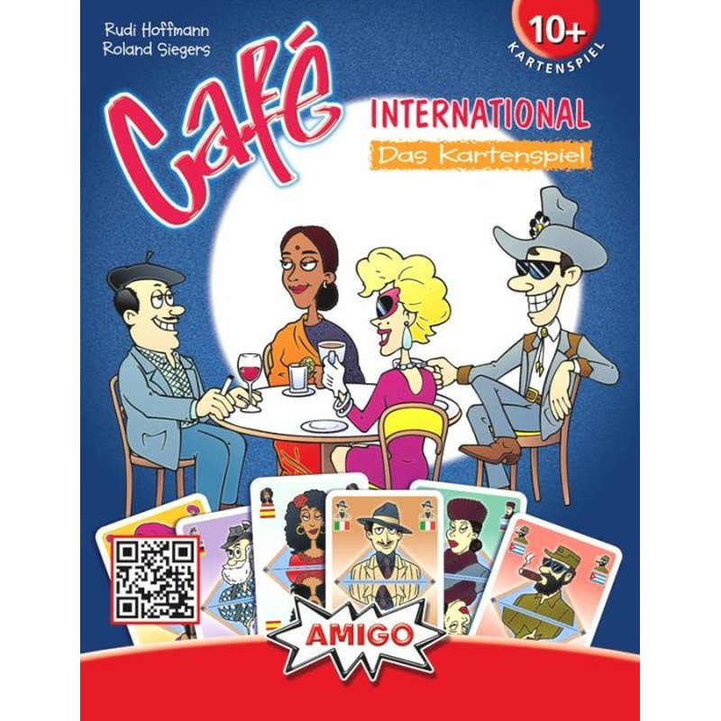 Cafe International Kartenspiel