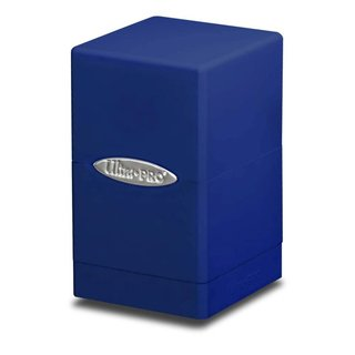 Pro Deck Box - Satin Tower (blau)