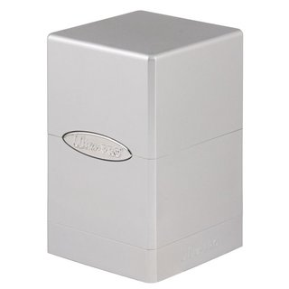Pro Deck Box - Satin Tower (metallic silber)