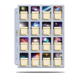 Platinum Page - 16 Pocket (41 x 63 mm) Display (100 Stück)