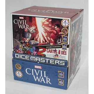 Marvel Dice Masters - Civil War Display (Gravity Feed)