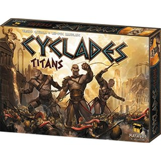 Cyclades - Titans (Expansion) (engl.)