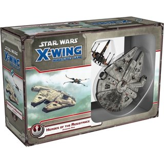 Star Wars X-Wing - Heroes of the Resistance (Expansion) (engl.)