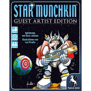 Star Munchkin - Guest Artist Edition (Peralta Version)