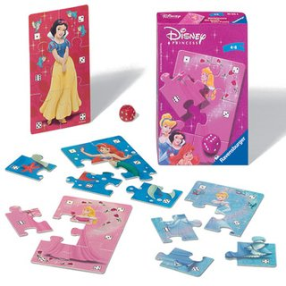 Disney Princess Würfelpuzzle
