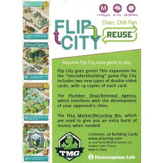 Flip City - Reuse (Expansion) (engl.)