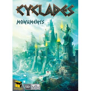 Cyclades - Monuments (Expansion) (engl.)