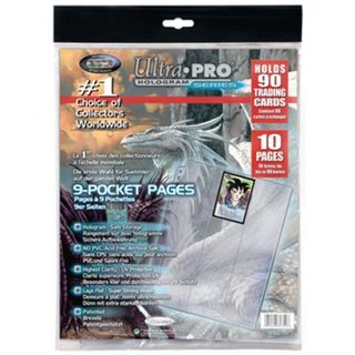 9-Pocket Pages (11 Hole) Refill Pack (10 Pages)