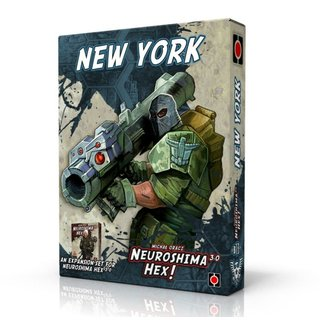 Neuroshima Hex 3.0 - New York (Expansion) (engl.)