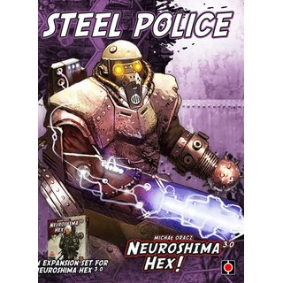 Neuroshima Hex 3.0 - Steel Police (Expansion) (engl.)