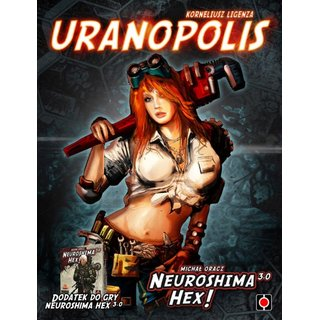 Neuroshima Hex 3.0 - Uranopolis (Expansion) (engl.)