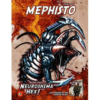 Neuroshima Hex 3.0 - Mephisto (Expansion) (engl.)