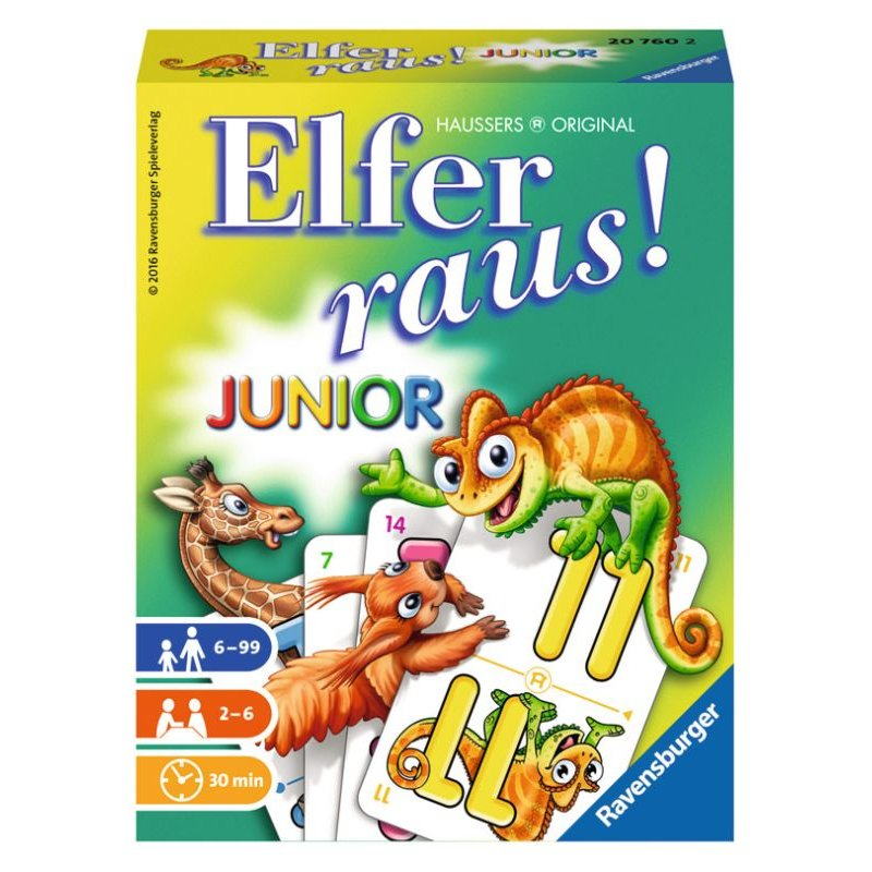 Elfer Raus Junior Spielanleitung