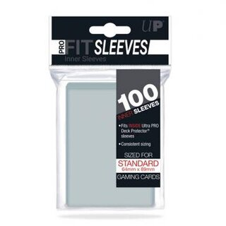 Standard Sleeves - Pro-Fit Card Clear (100 Sleeves) (64...