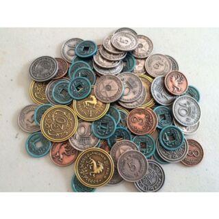 Scythe Metall Münzen 2899 Brettspielversandde Dein