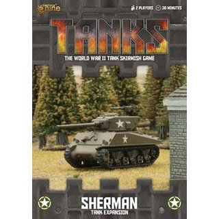 Tanks - Sherman (Expansion) (engl.)