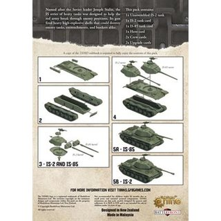 Tanks - IS-2 (Expansion) (engl.)