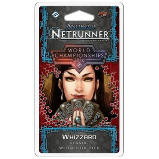 Android Netrunner LCG - Whizzard (Weltmeister Deck 2016)
