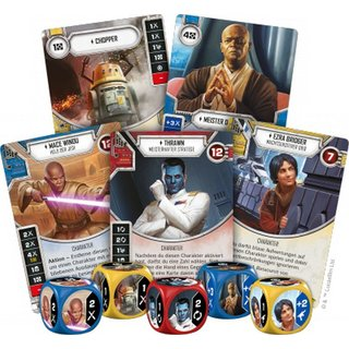 Star Wars Destiny - Imperium im Krieg (Booster Pack)...