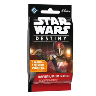 Star Wars Destiny - Imperium im Krieg (Booster Pack)