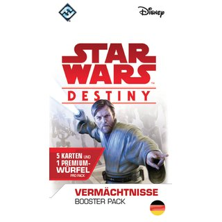 Star Wars Destiny - Vermächtnisse (Booster Pack) (Display)